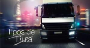 Transports GNSSole - Tipos de ruta